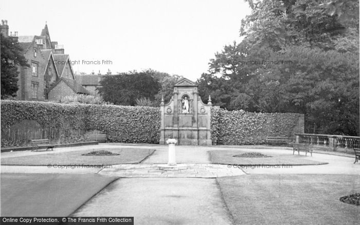 Photo of Lichfield, Gardens Of Remembrance c.1950