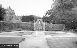 Lichfield, Gardens Of Remembrance c.1950