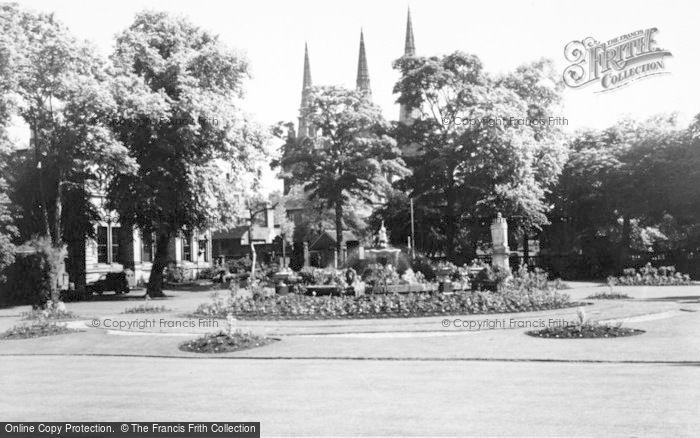 Photo of Lichfield, Museum Gardens c.1965