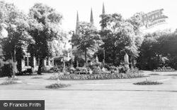 Lichfield, Museum Gardens c.1965