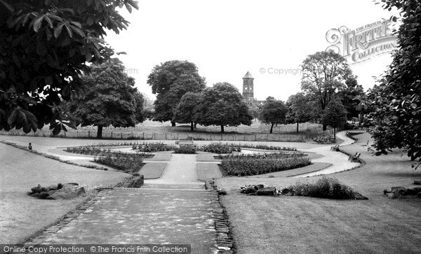 Photo of Lichfield, Rose Gardens c.1955
