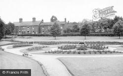Lichfield, Rose Gardens c.1955