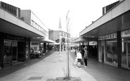 Lichfield, Shopping Centre c1965