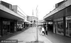 Shopping Centre c.1965, Lichfield