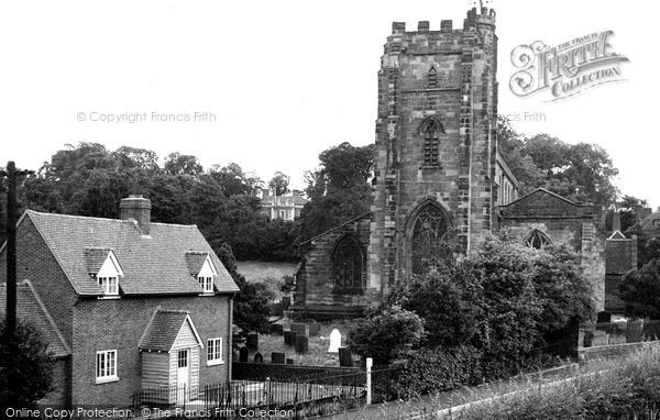 Lichfield, St Chads Church c1950