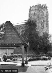 Lichfield, St Chad's Church c.1955