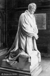 The Cathedral, Bishop Ryder Monument c.1880, Lichfield