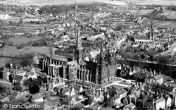 The Cathedral c.1953, Lichfield