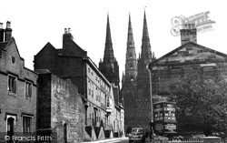 The Cathedral c.1955, Lichfield
