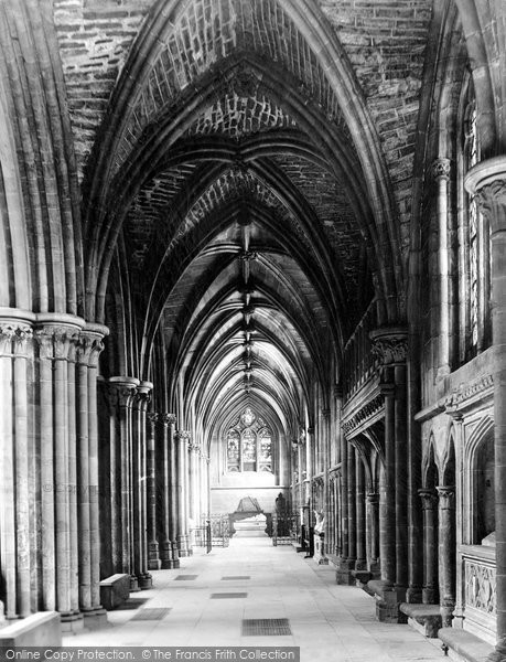 Photo of Lichfield, The Cathedral, South Choir Aisle c.1880