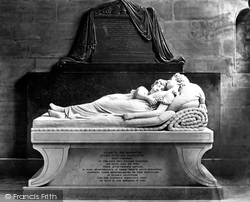 The Cathedral, The Sleeping Children By Sir Francis Chantrey c.1880, Lichfield