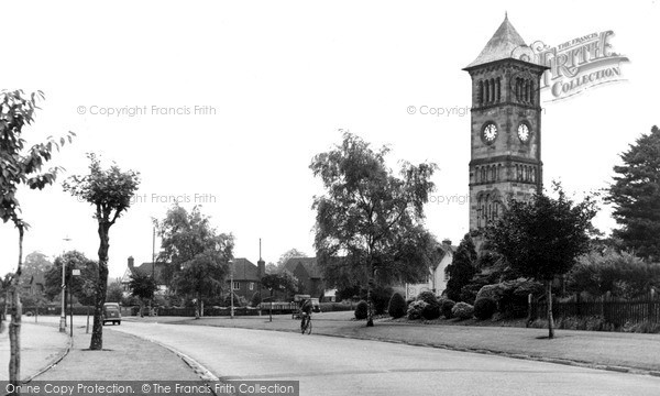 Photo of Lichfield, The Clock Tower c.1955