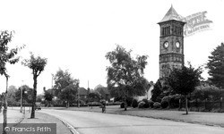 The Clock Tower c.1955, Lichfield