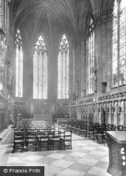 Lichfield, The Lady Chapel c.1955