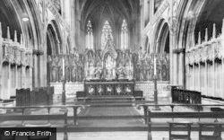 Lichfield, The Sanctuary c.1955
