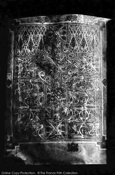 Photo of Lichfield, The St Chad Gospels c.1890