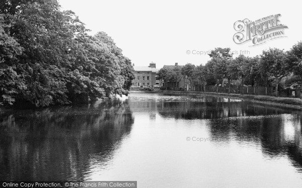 Photo of Lichfield, View From The Bridge c.1955