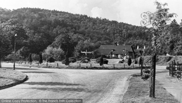 Photo of Lickey, Bilberry Hill From Four Ways c.1955