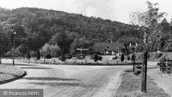 Lickey, Bilberry Hill From Four Ways c.1955