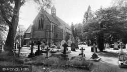 Lickey, Holy Trinity Church c.1965