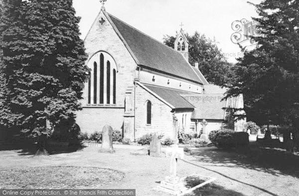 Photo of Lickey, Holy Trinity Church c.1965
