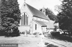 Holy Trinity Church c.1965, Lickey
