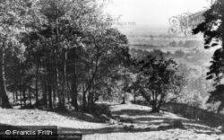 Lickey, Rubery View c.1955