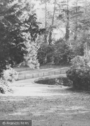 Lickey, The Park Pool c.1955