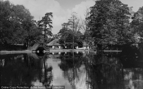 Photo of Lickey, The Park Pool c.1955