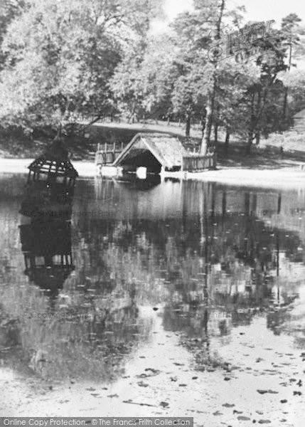 Photo of Lickey, The Park Pool Duck House c.1955