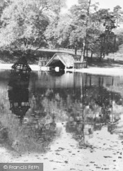 Lickey, The Park Pool Duck House c.1955