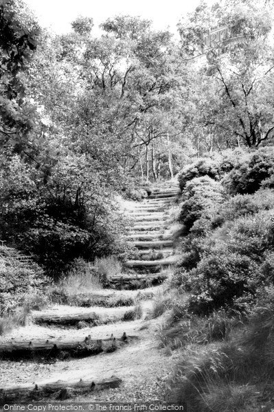 Photo of Lickey, the Steps, Lickey Hills c1960