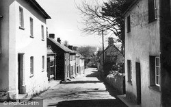 Lifton, Fore Street c.1950