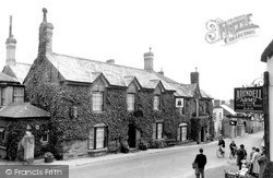 Lifton, The Arundell Arms c.1955