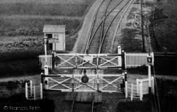 Lifton, The Level Crossing c.1900