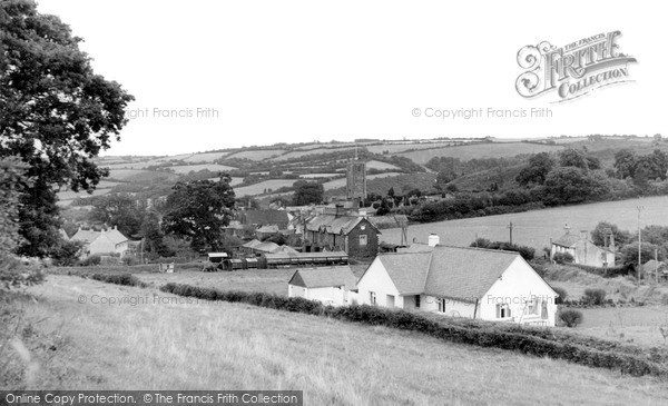 Photo of Lifton, The Village c.1955