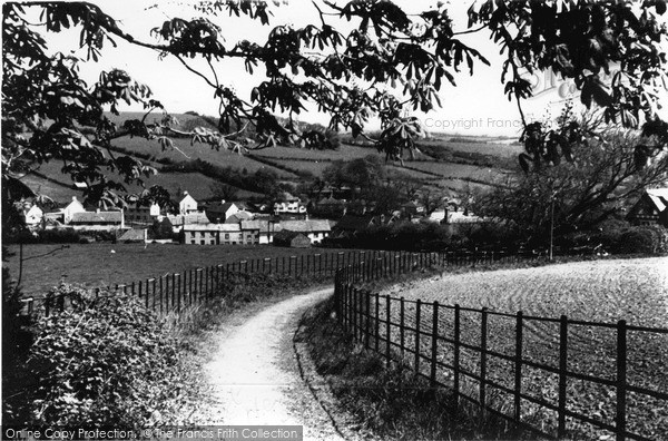 Photo of Lifton, View From Hill Walk c.1950