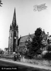 Lightcliffe, Congregational Church c.1965