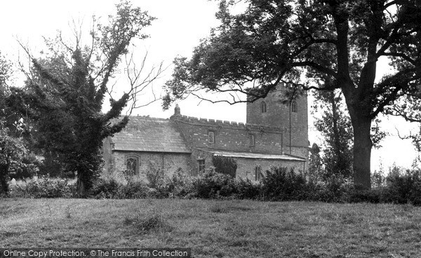 Photo of Lilbourne, All Saints Church c.1955