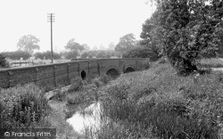 Lilbourne, The Bridge c.1955