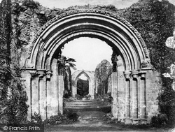 Lilleshall, Abbey, Down The Nave c.1864