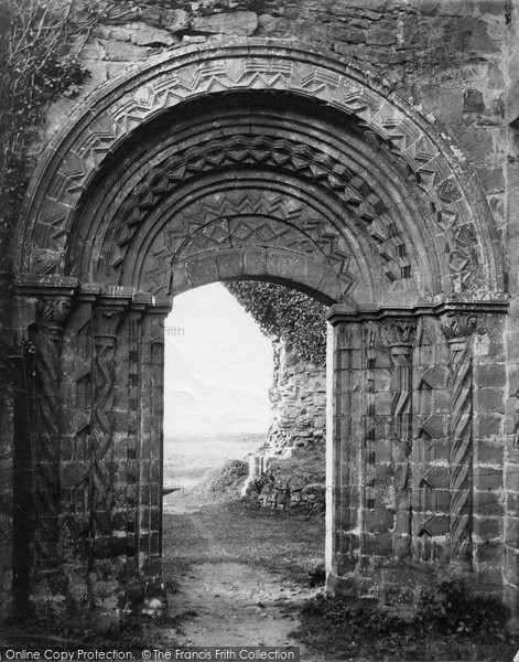 Photo of Lilleshall, Abbey, Norman Door c.1864