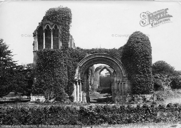 Photo of Lilleshall, Abbey, West Front 1898