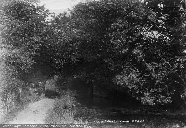Photo of Lilleshall, Canal 1898