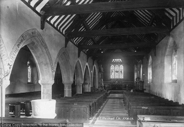 Photo of Lilleshall, Church Interior 1898