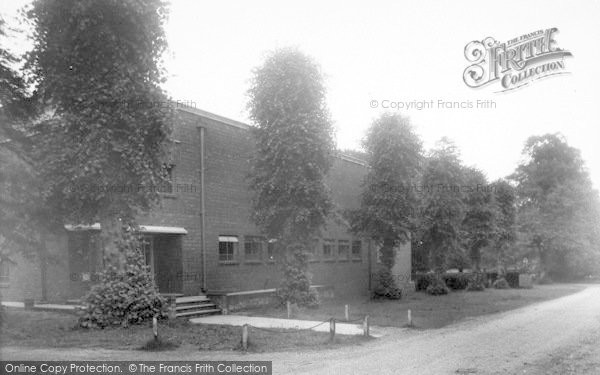 Photo of Lilleshall, King George VI Hall, National Recreation Centre c.1955