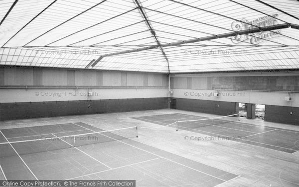 Photo of Lilleshall, King George VI Hall, National Recreation Centre c.1960