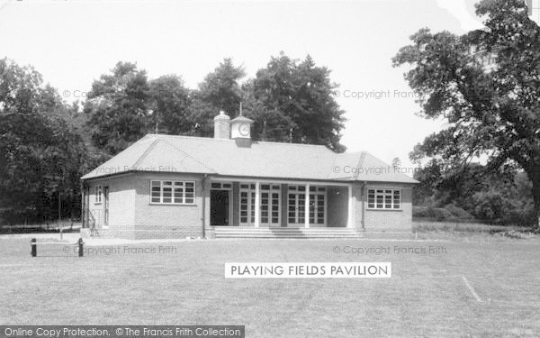 Photo of Lilleshall, Playing Fields Pavilion c.1960