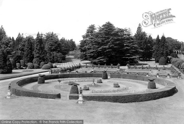 Photo of Lilleshall, The Italian Gardens And Lawns c.1955