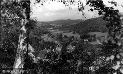 Limpley Stoke, From The Bath Road c.1955